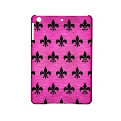 Royal1 Black Marble & Pink Brushed Metal (r) Ipad Mini 2 Hardshell Cases by trendistuff