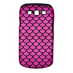Scales1 Black Marble & Pink Brushed Metal Samsung Galaxy S Iii Classic Hardshell Case (pc+silicone) by trendistuff