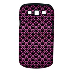 Scales2 Black Marble & Pink Brushed Metal (r) Samsung Galaxy S Iii Classic Hardshell Case (pc+silicone) by trendistuff