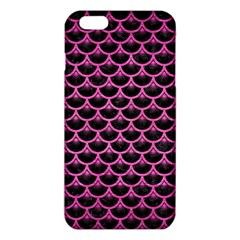 Scales3 Black Marble & Pink Brushed Metal (r) Iphone 6 Plus/6s Plus Tpu Case by trendistuff