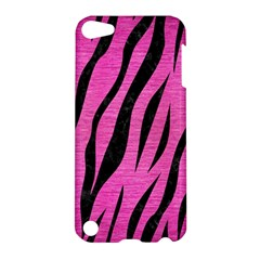 Skin3 Black Marble & Pink Brushed Metal Apple Ipod Touch 5 Hardshell Case by trendistuff