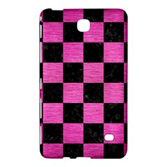Square1 Black Marble & Pink Brushed Metal Samsung Galaxy Tab 4 (8 ) Hardshell Case  by trendistuff