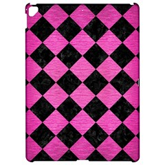 Square2 Black Marble & Pink Brushed Metal Apple Ipad Pro 12 9   Hardshell Case by trendistuff