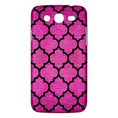 Tile1 Black Marble & Pink Brushed Metal Samsung Galaxy Mega 5 8 I9152 Hardshell Case  by trendistuff