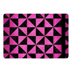 Triangle1 Black Marble & Pink Brushed Metal Apple Ipad Pro 10 5   Flip Case by trendistuff