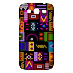 Abstract A Colorful Modern Illustration Samsung Galaxy Mega 5 8 I9152 Hardshell Case  by Celenk