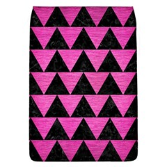 Triangle2 Black Marble & Pink Brushed Metal Flap Covers (l)  by trendistuff