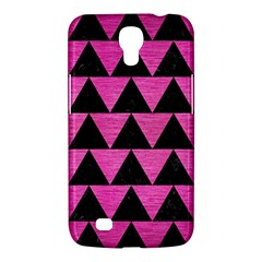 Triangle2 Black Marble & Pink Brushed Metal Samsung Galaxy Mega 6 3  I9200 Hardshell Case by trendistuff