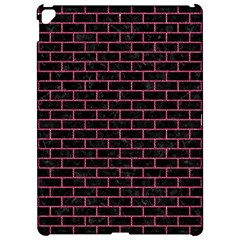 Brick1 Black Marble & Pink Denim (r) Apple Ipad Pro 12 9   Hardshell Case by trendistuff
