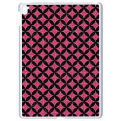 Circles3 Black Marble & Pink Denim Apple Ipad Pro 9 7   White Seamless Case by trendistuff