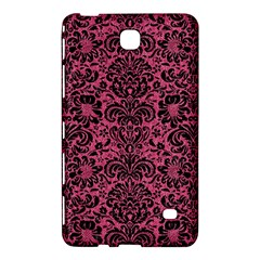 Damask2 Black Marble & Pink Denim Samsung Galaxy Tab 4 (7 ) Hardshell Case  by trendistuff