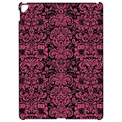 Damask2 Black Marble & Pink Denim (r) Apple Ipad Pro 12 9   Hardshell Case by trendistuff