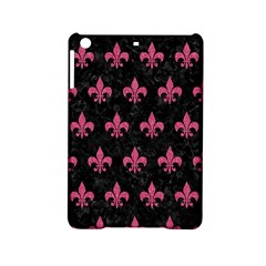 Royal1 Black Marble & Pink Denim Ipad Mini 2 Hardshell Cases by trendistuff