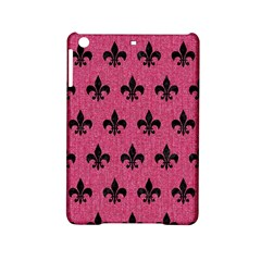 Royal1 Black Marble & Pink Denim (r) Ipad Mini 2 Hardshell Cases by trendistuff