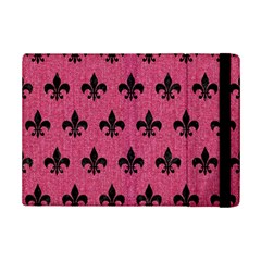 Royal1 Black Marble & Pink Denim (r) Ipad Mini 2 Flip Cases by trendistuff