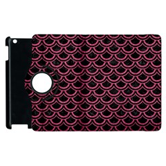 Scales2 Black Marble & Pink Denim (r) Apple Ipad 2 Flip 360 Case by trendistuff
