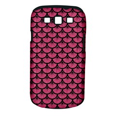 Scales3 Black Marble & Pink Denim Samsung Galaxy S Iii Classic Hardshell Case (pc+silicone) by trendistuff
