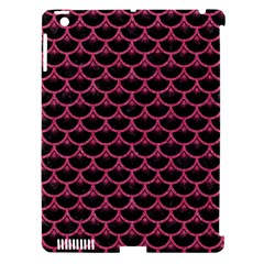 Scales3 Black Marble & Pink Denim (r) Apple Ipad 3/4 Hardshell Case (compatible With Smart Cover) by trendistuff