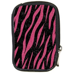 Skin3 Black Marble & Pink Denim (r) Compact Camera Cases by trendistuff