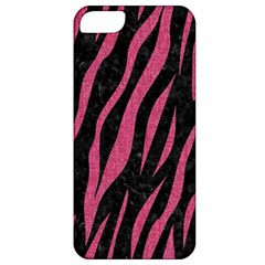 Skin3 Black Marble & Pink Denim (r) Apple Iphone 5 Classic Hardshell Case by trendistuff