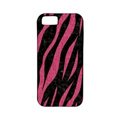 Skin3 Black Marble & Pink Denim (r) Apple Iphone 5 Classic Hardshell Case (pc+silicone) by trendistuff