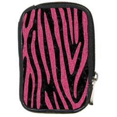 Skin4 Black Marble & Pink Denim Compact Camera Cases by trendistuff