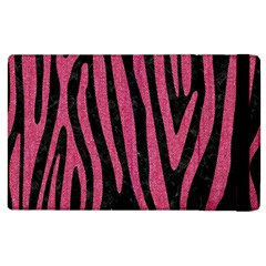 Skin4 Black Marble & Pink Denim Apple Ipad 3/4 Flip Case by trendistuff