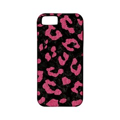 Skin5 Black Marble & Pink Denim Apple Iphone 5 Classic Hardshell Case (pc+silicone) by trendistuff