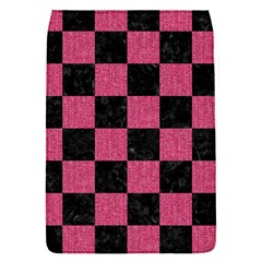 Square1 Black Marble & Pink Denim Flap Covers (s)  by trendistuff