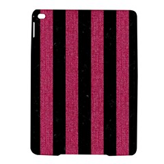 Stripes1 Black Marble & Pink Denim Ipad Air 2 Hardshell Cases by trendistuff