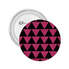 Triangle2 Black Marble & Pink Denim 2 25  Buttons by trendistuff