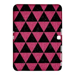 Triangle3 Black Marble & Pink Denim Samsung Galaxy Tab 4 (10 1 ) Hardshell Case  by trendistuff
