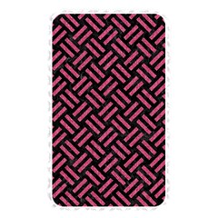 Woven2 Black Marble & Pink Denim (r) Memory Card Reader by trendistuff