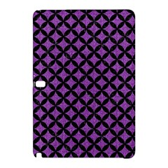 Circles3 Black Marble & Purple Denim Samsung Galaxy Tab Pro 10 1 Hardshell Case by trendistuff