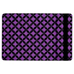 Circles3 Black Marble & Purple Denim Ipad Air 2 Flip by trendistuff