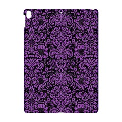 Damask2 Black Marble & Purple Denim (r) Apple Ipad Pro 10 5   Hardshell Case by trendistuff