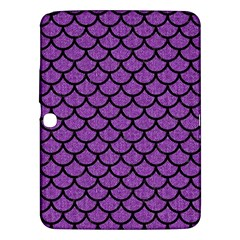 Scales1 Black Marble & Purple Denim Samsung Galaxy Tab 3 (10 1 ) P5200 Hardshell Case  by trendistuff