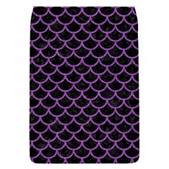 Scales1 Black Marble & Purple Denim (r) Flap Covers (s)  by trendistuff