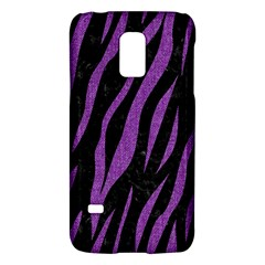 Skin3 Black Marble & Purple Denim (r) Galaxy S5 Mini by trendistuff