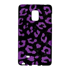 Skin5 Black Marble & Purple Denim Galaxy Note Edge