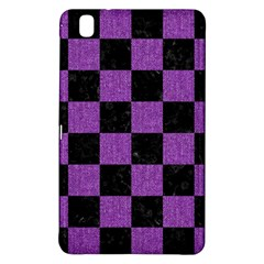 Square1 Black Marble & Purple Denim Samsung Galaxy Tab Pro 8 4 Hardshell Case by trendistuff