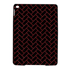Brick2 Black Marble & Red Denim (r) Ipad Air 2 Hardshell Cases by trendistuff