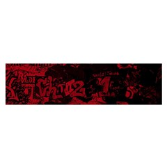 Graffiti Satin Scarf (oblong) by ValentinaDesign