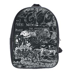 Graffiti School Bag (large) by ValentinaDesign