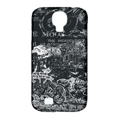 Graffiti Samsung Galaxy S4 Classic Hardshell Case (pc+silicone) by ValentinaDesign