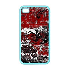 Graffiti Apple Iphone 4 Case (color) by ValentinaDesign