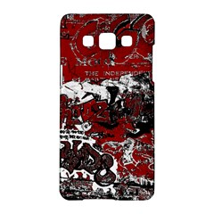 Graffiti Samsung Galaxy A5 Hardshell Case  by ValentinaDesign