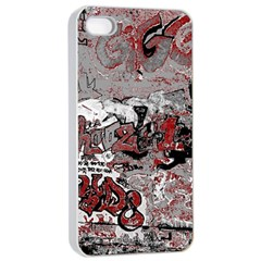 Graffiti Apple Iphone 4/4s Seamless Case (white)