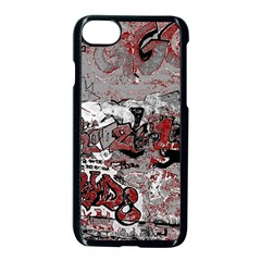 Graffiti Apple Iphone 8 Seamless Case (black)