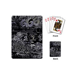 Graffiti Playing Cards (mini)  by ValentinaDesign